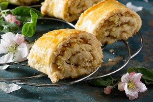 puff pastry stuffed with Gata