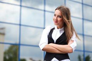 success businesswoman