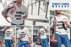 Street T-shirt MockUp