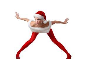 feminine santa's helper