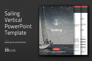 Sailing Vertical PowerPoint Template
