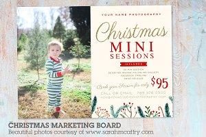 IC028 Christmas Marketing Board