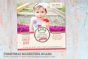 IC005 Christmas Marketing Board
