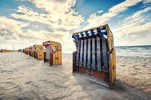 Beach Chairs at Baltic Sea 3