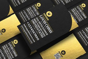 Golden Nova 2 business card