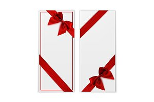 Gift card, voucher or greeting card.