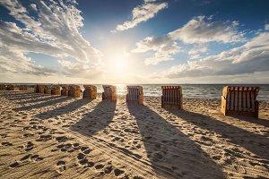 Beach Chairs at Baltic Sea 2