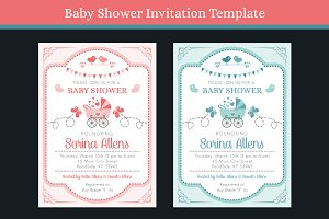 Baby Shower Invitation Vol-1