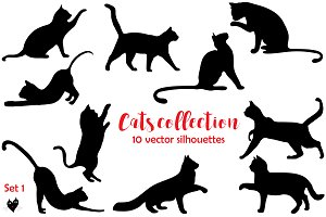 Cats collection, set 1