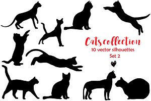 Cats collection, set 2