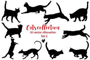 Cats collection, set 3