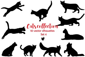 Cats collection, set 4