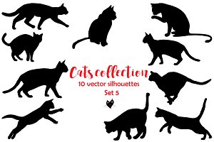 Cats collection, set 5
