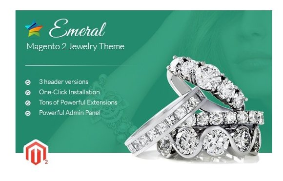 MGS Emeral - Magento 2 Jewelry theme