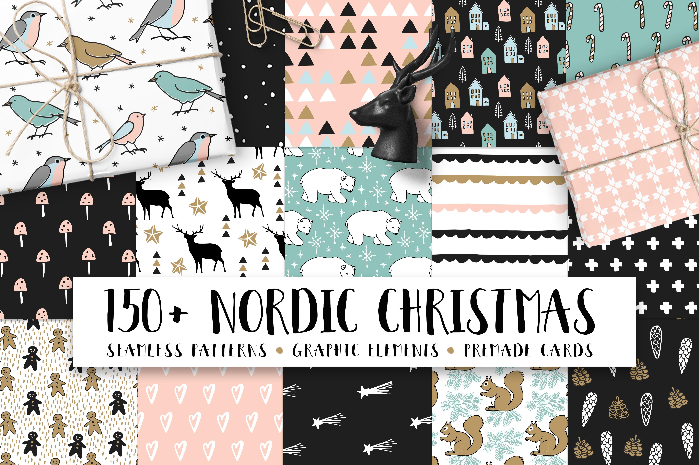 150+ Nordic Christmas set ~ Illustrations ~ Creative Market