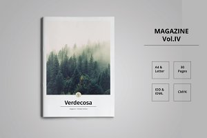 Magazine Template Indesign Vol. IV