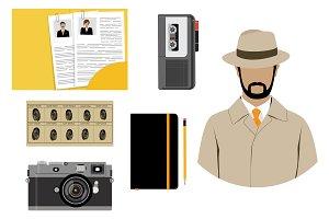 Detective, inspector equipment