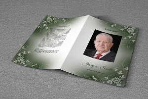 Funeral Program Template-T607