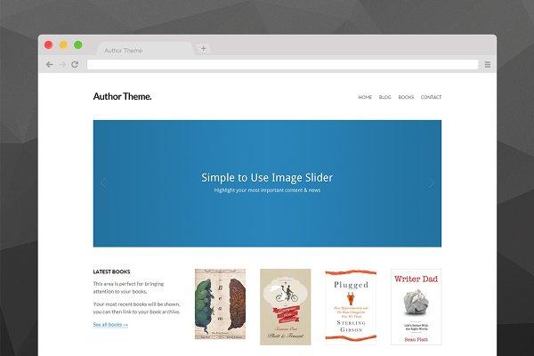 Author Theme for WordPress