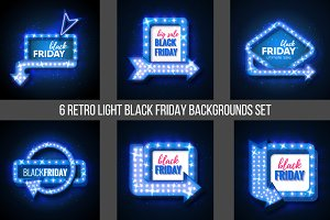 12 Black Friday Sale backgrounds