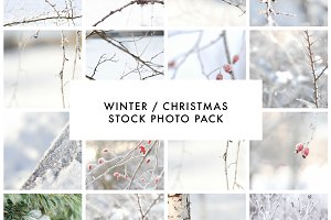 WINTER / CHRISTMAS PHOTO PACK