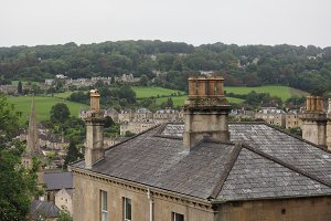 View of the city of Bath
