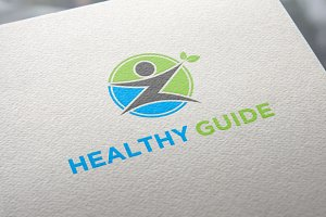 Healthy Guide | Letter Z | Logo