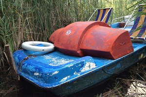 Old Pedal Boat