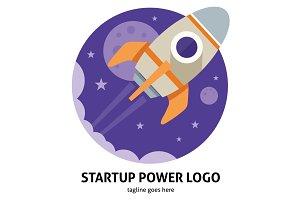 Startup Power Logo
