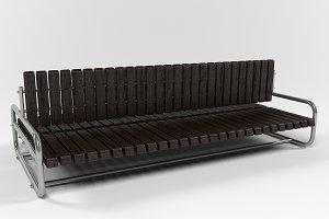 Kranz urban bench