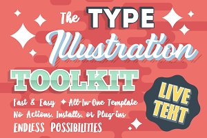 Type Illustration Toolkit + EXTRAS