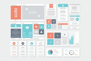 Clean and Fresh Infographic Elements