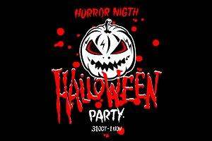 vector Halloween Party Design