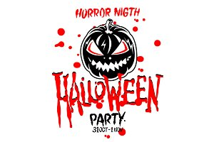 Halloween Party Design vector