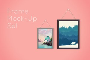 Picture Frame Mockup Set