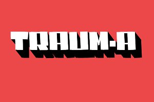 TRAUM-A - font PROMO 50% OFF