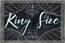 King Size Font