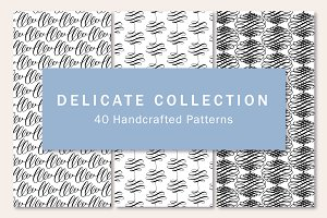 Delicate Collection. 40 Patterns