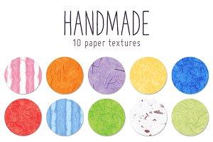Handmade paper textures