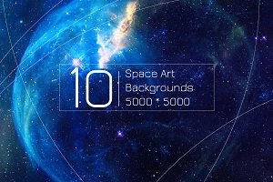 Space and Galaxy Backgrounds vol.1