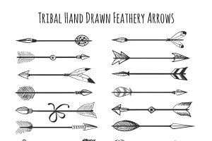 American indian arrow icons