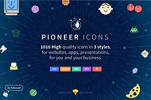 Pioneer Icons