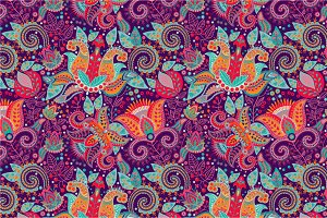 Seamless colorful pattern