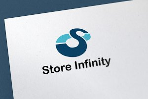 Store Infinity Logo Template