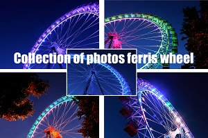 Collection of photos of ferris wheel