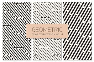 Geometric Seamless Patterns Set 14