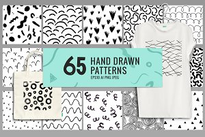 65 Hand Drawn Patterns