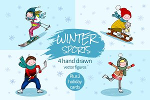 Winter Sports Figures