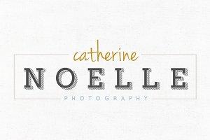 Catherine Noelle Premade Logo Templa