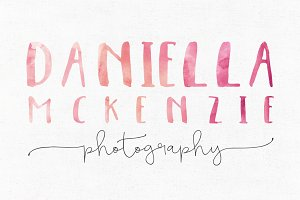 Daniella McKenzie Logo Template